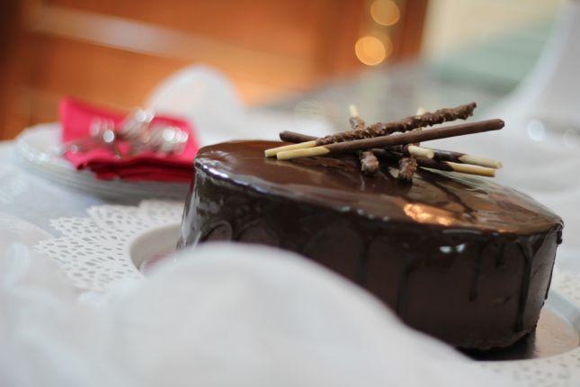 كيكة الشوكولاتة بكريمة الكاكاو المميزة