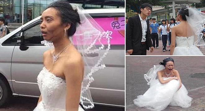 صينية تختبر حب خطيبها لها بطريقة غريبة