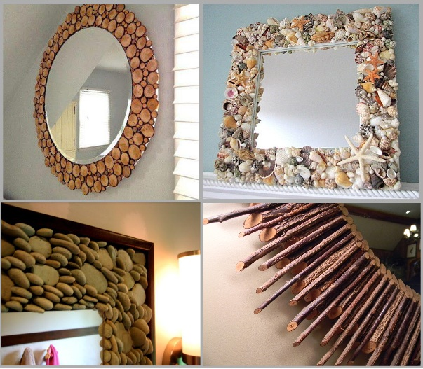 Creative-ideas-to-decorate-your-mirror-using-natural-materials