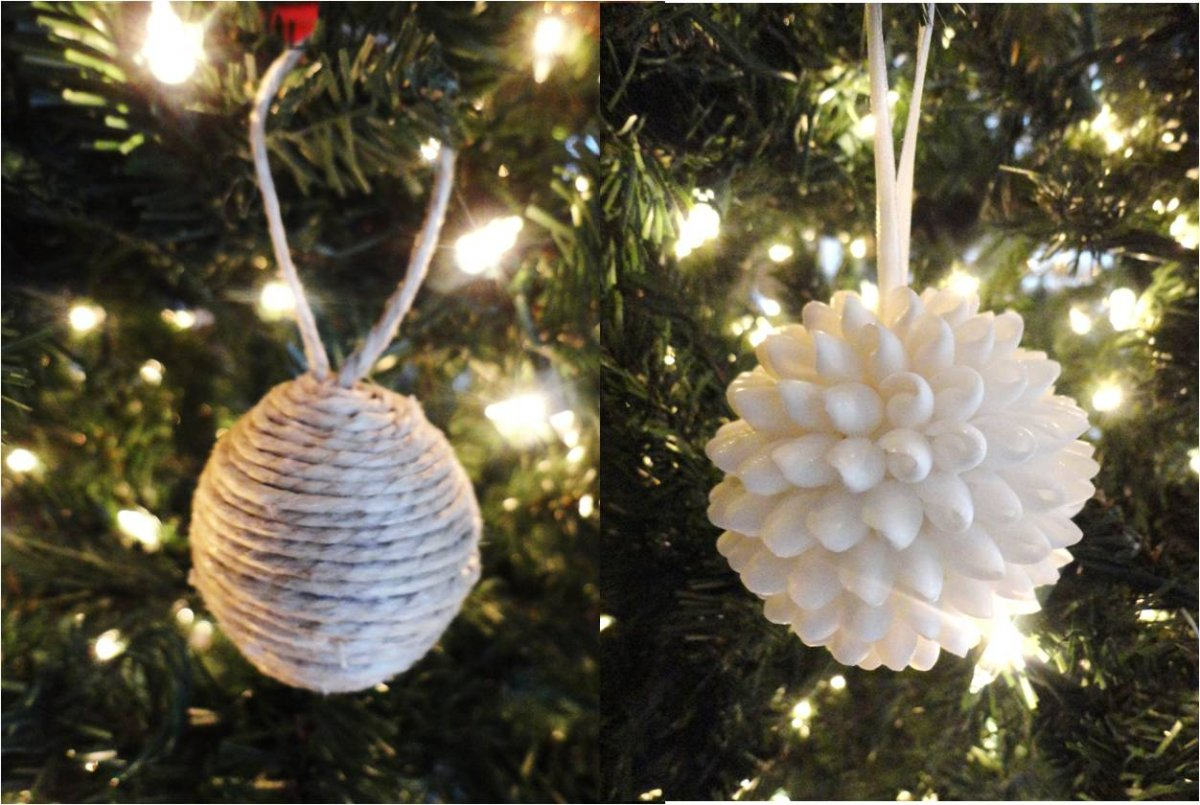 diy-yarn-thread-balls-puffy-white-cotton-snowball-christmas-tree-ornaments-ideas