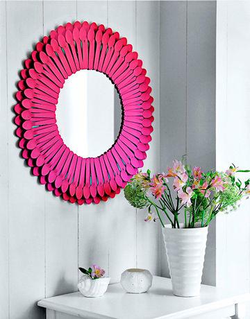 أفكار مبتكره وبسيطة لصنع المرآه