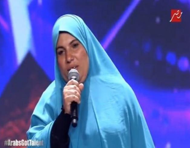 السيدة المصرية منى البحيري تقول أنها قبضت لتظهر في برنامج أراب جوت تالنت