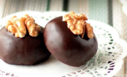 طريقة تحضير حلوى الشوكولاطه بدون طهي