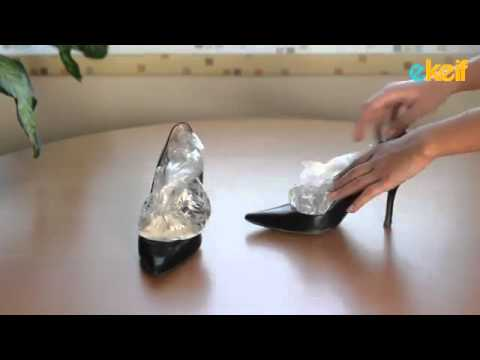 فيديو مبهر- كيف توسّع الحذاء من نصف نمرة إلى نمرة كاملة؟!