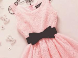t98kgn-l-610x610-dress-pink+dress-black+bow+belt-pink-bow-light+pink+dress-mini-cute+dress-flowers-pink+sunglasses-cute-fashion-prom+dress-black-girly-elegant